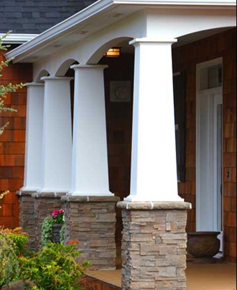 Exterior Column Covers Crewsing Us Modern House Beautifull 2017